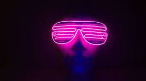 party sunglasses with lights led party grate glasses pink www cool mania com youtube