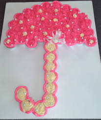 gender reveal pink its a baby shower cupcakes fondant baby