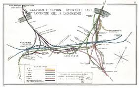 Eurostar Route Map by Starzina Z Railways Direct Line Clapham Junction Route Map 1912 Jpg