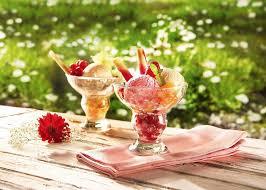 luminarc 9294563 6 coupes à glace freezy verre amazon fr cuisine
