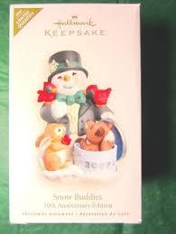 2013 hallmark ornament snow buddies with polar 16 in series