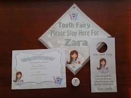 tooth fairy gift tooth fairy kit