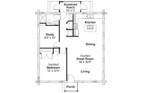 House Plans With Vaulted Great Room by Lodge Style House Plans Clarkridge 30 267 Associated Designs