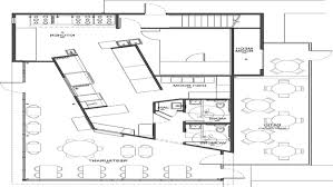 plan stunning modern style floor plan commercial kitchen design