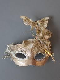 unique masks unique gold filigree butterfly masquerade mask