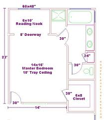 master bedroom with bathroom floor plans photos and video