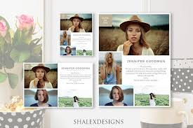 senior yearbook ad templates senior yearbook ads template magazine templates creative market