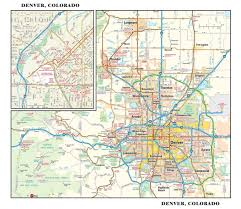 Road Maps Usa by Denver Road Map Road Map Of Denver Colorado Colorado Usa Map Usa