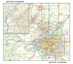 Metro Maps Nashville by Denver Road Map Road Map Of Denver Colorado Colorado Usa Map Usa