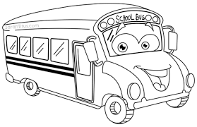 collection solutions free colouring pictures big bus