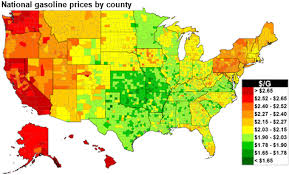 u s average gasoline prices this thanksgiving are the second lowest