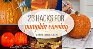clever pumpkin clever pumpkin carving hacks