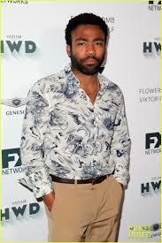 Backyard Fx Donald Glover Joins U0027atlanta U0027 Co Stars At Fx U0027s Pre Emmy Party