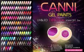 50618j canni new 141 colors names paint gel summer color nail art