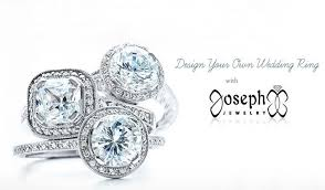 create your own ring design your own wedding ring with joseph jewelry weddbook