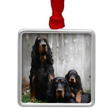 gordon setter ornaments keepsake ornaments zazzle
