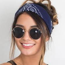 headbands for women brand women hair accessories fashion bandana scarf square