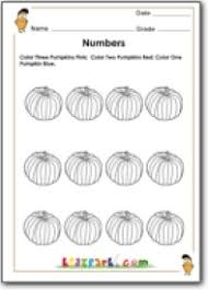 pumpkin counting worksheet teachers resources first grade number