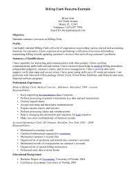 Resume Objective Receptionist Sample Medical Billing Resume Objectives Contegri Com