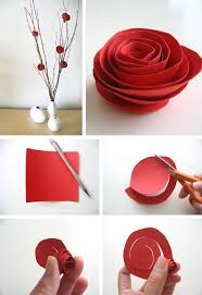 innovative decorations with roses on the