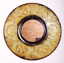 Midcentury Modern Mirror Mid Century Modern Round Wall Decor Mirror 30
