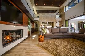 The  NAHB New American Home Modern Living Room Las Vegas - American living room design
