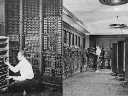 Eniac by History Of Computers Eniac And Edvac Gambartop Com