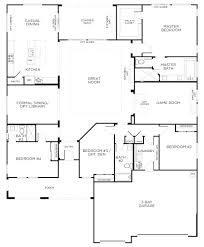 single open floor plans 4 bedroom floor plans one one open floor plans single