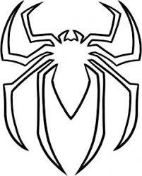 draw spiderman logo spiderman symbol step 5 cake