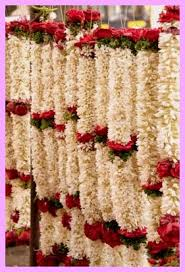 garland for indian wedding flowers and south indian weddings theknotstory