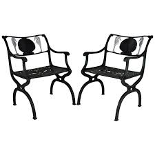 Garden Chairs Molla Patio And Garden Furniture 10 For Sale At 1stdibs