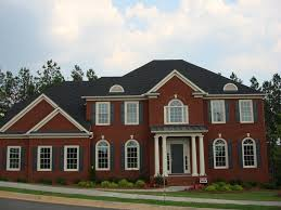 Pillars In Home Decorating New Brick Home Designs 78 Designs House In New Brick Home Designs