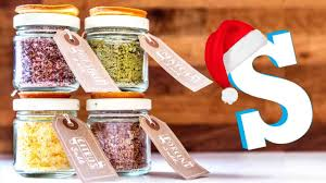 food christmas gifts flavoured salts recipe diy christmas food gifts