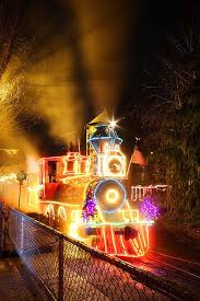 christmas lights train ride christmas zoo lights oregon zoo portland oregon portland