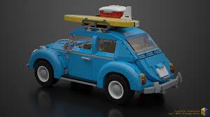 volkswagen lego artstation lego creator 10252 volkswagen beetle renderbricks