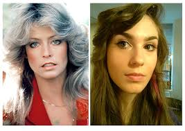 farrah fawcett hair color how to get the look farrah fawcett 5th anniversary 70s feathered