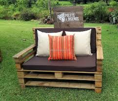 Pallets Patio Furniture by Recycled Wooden Pallet Patio Garden Sofa Set Pallet Ideas