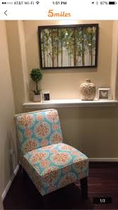 gorgeous and orange accent chair for sale in tx