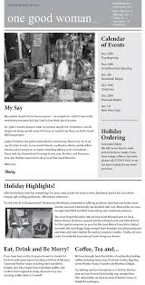 archived newsletters