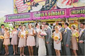 carnival weddings colourful handmade backyard wedding featuring a trip to the