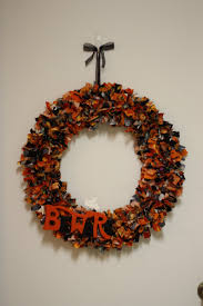 halloween wreaths for sale getting crafty halloween rag wreath diary of a working mom