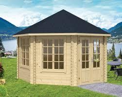 lynn corner log cabin 4 27x4 27m