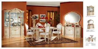 5 820 00 rossella comp 1 dining room set table 2 arm and 4 side