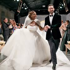wedding dress goals serena williams fairytale wedding will give you serious marriage
