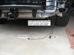need help with e70 lci trailer hitch wiring installation
