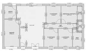 plan maison plain pied 5 chambres plan de maison 5 chambres plain pied gratuit plans de maison