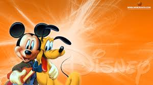 disney mickey mouse and pluto wallpaper hd widescreen free