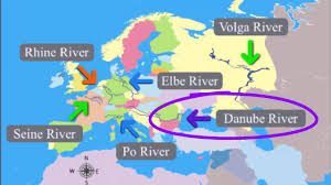 Europe Map With Rivers by European Rivers Cc Week 4 Cycle 2 Geography Youtube
