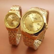 Jam Tangan Alba Emas jam alba warna emas kw murah di