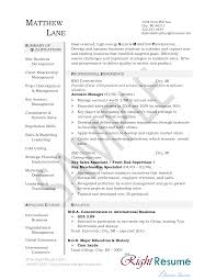 Sales Account Manager Resume Sample Free Account Manager Resume Templates At Allbusinesstemplates Com